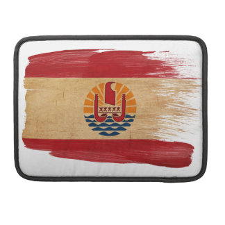 French Polynesia Flag Sleeve For MacBook Pro