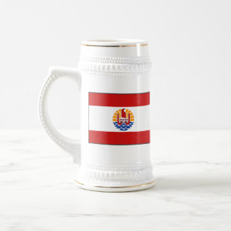 French Polynesia Flag ~ Map Mug