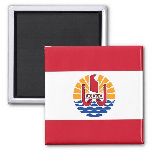 French Polynesia Flag PF Magnet