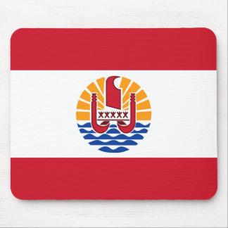 French Polynesia Flag PF Mouse Pad
