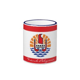 French Polynesia flag souvenir mug