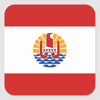 French Polynesia Flag Sticker