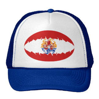 French Polynesia Gnarly Flag Hat