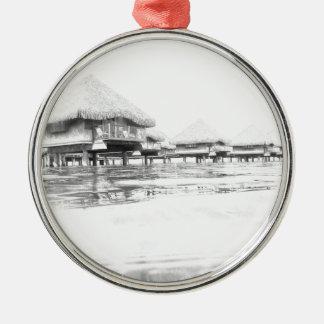 French Polynesia Metal Ornament