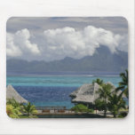 French Polynesia, Moorea. A view of the island Mouse Pads