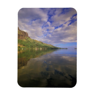 French Polynesia, Moorea. Cooks Bay. Cruise ship 2 Magnet