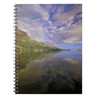 French Polynesia, Moorea. Cooks Bay. Cruise ship 2 Notebook
