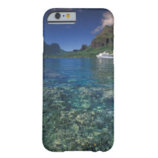 French Polynesia, Moorea. Cooks Bay. Cruise ship Barely There iPhone 6 Case