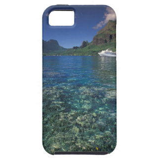 French Polynesia Moorea Cooks Bay Cruise ship iPhone 5 Covers