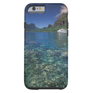French Polynesia, Moorea. Cooks Bay. Cruise ship Tough iPhone 6 Case