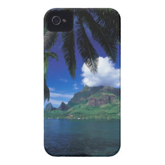 French Polynesia, Moorea. Cooks Bay. Green iPhone 4 Cases
