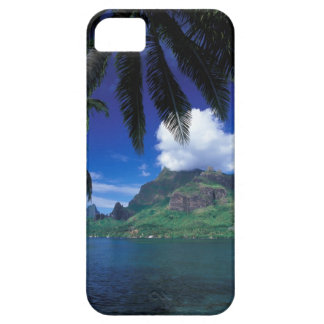 French Polynesia, Moorea. Cooks Bay. Green iPhone 5 Cover