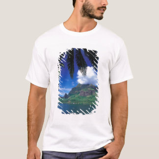 French Polynesia, Moorea. Cooks Bay. Green T-Shirt