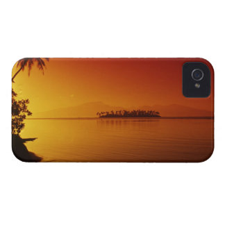 FRENCH POLYNESIA Moorea Sunset Blackberry Bold Covers