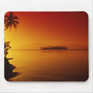 FRENCH POLYNESIA, Moorea. Sunset. Mouse Pad