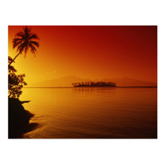 FRENCH POLYNESIA, Moorea. Sunset. Post Cards