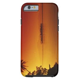 FRENCH POLYNESIA, Moorea. Sunset. Tough iPhone 6 Case