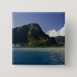 French Polynesia, Moorea. The Paul Gauguin Pinback Button