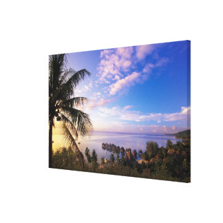 French Polynesia, Moorea. View of the Baie de Canvas Print
