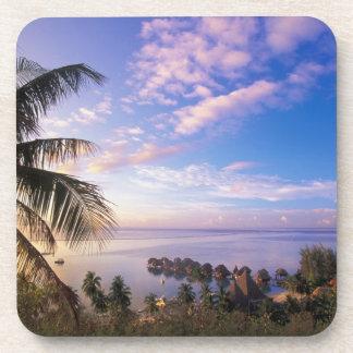 French Polynesia, Moorea. View of the Baie de Coaster