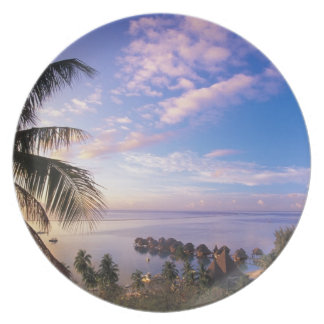 French Polynesia, Moorea. View of the Baie de Dinner Plate