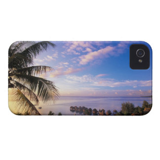 French Polynesia, Moorea. View of the Baie de iPhone 4 Cover