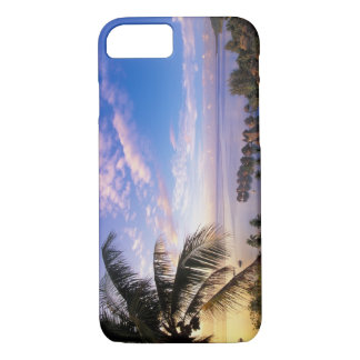 French Polynesia, Moorea. View of the Baie de iPhone 7 Case