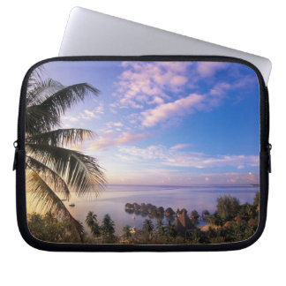 French Polynesia, Moorea. View of the Baie de Laptop Sleeve