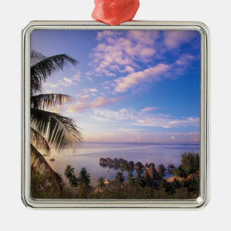 French Polynesia, Moorea. View of the Baie de Metal Ornament