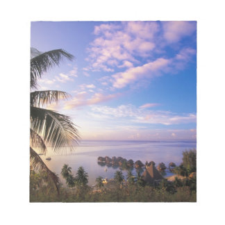 French Polynesia, Moorea. View of the Baie de Notepad