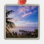 French Polynesia, Moorea. View of the Baie de Christmas Ornaments