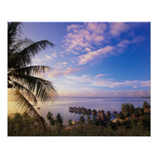 French Polynesia, Moorea. View of the Baie de Poster