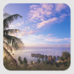 French Polynesia, Moorea. View of the Baie de Stickers
