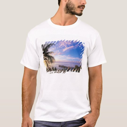 French Polynesia, Moorea. View of the Baie de T-Shirt