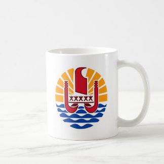 French Polynesia PF Coffee Mug