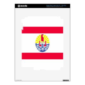 FRENCH POLYNESIA SKIN FOR iPad 3