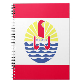 FRENCH POLYNESIA SPIRAL NOTEBOOK