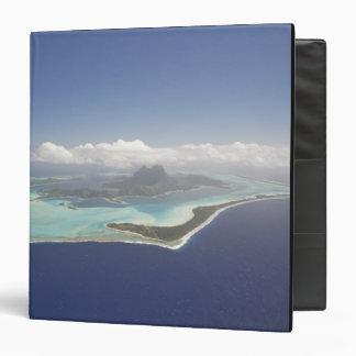 French Polynesia, Tahiti, Bora Bora. The 3 Ring Binder
