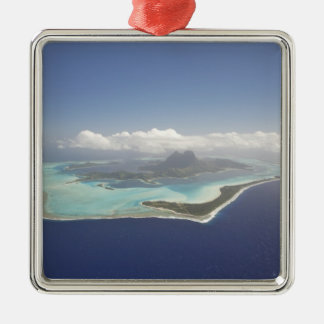 French Polynesia, Tahiti, Bora Bora. The Metal Ornament
