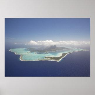 French Polynesia, Tahiti, Bora Bora. The Poster