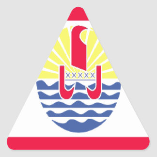 FRENCH POLYNESIA TRIANGLE STICKER