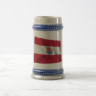 French Polynesia Waving Flag Mug