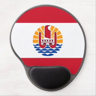 French Polynesian flag Gel Mouse Pad