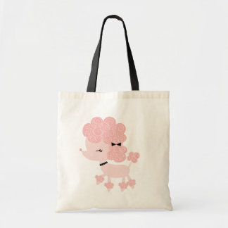 French Poodle Canvas Bags