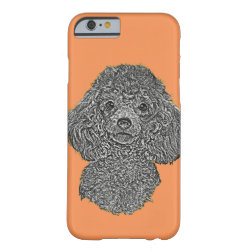 Case-Mate Barely There iPhone 6 Case with Poodle Phone Cases design