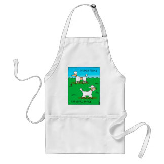 French poodle, Chassidic poodle Adult Apron