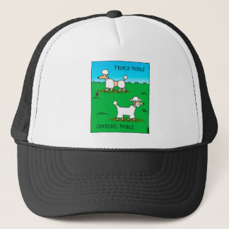 French poodle, Chassidic poodle Trucker Hat