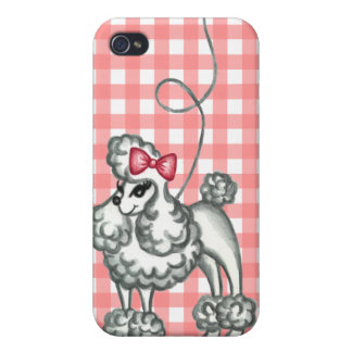 French Poodle iPhone Case