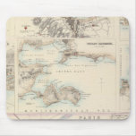 French Portsand Harbours and Plan of Paris Mouse Pad