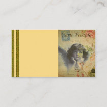 French Postcard Business Card